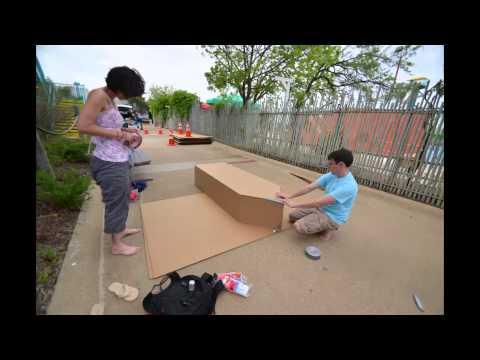 2014 Build On Site Event at Cardboard Boat Regatta