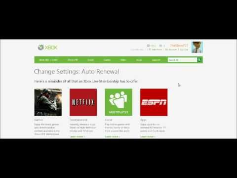How To Cancel Monthly Xbox Live - **HD**