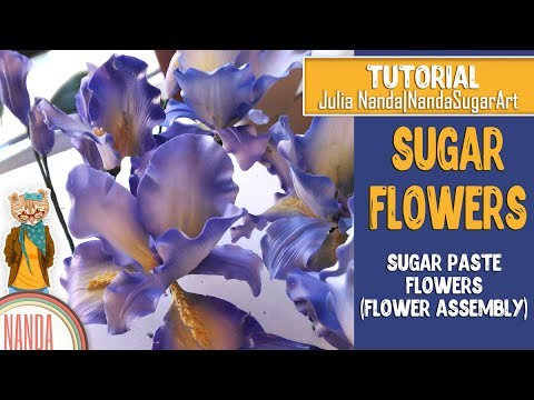 How to make realistic sugar flowers