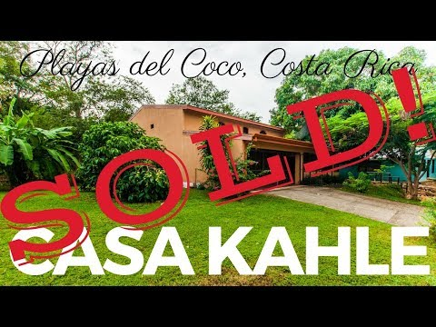 *** FOR SALE *** Casa Kahle – Playas del Coco, Guanacaste, Costa Rica