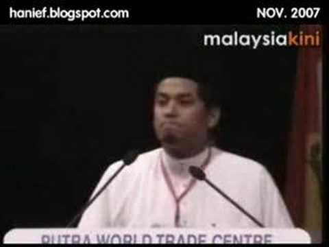 Pak lah & Khairy [versi donald duck]