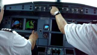 TURBULENCE A320 COCKPIT INTERJET