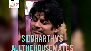 Siddharth Shukla Vs The House in (Civil War Style)| #BiggBoss13 | Fan Choice