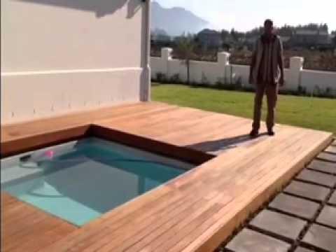 Wooden Sliding Deck