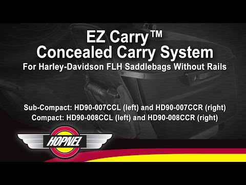 EZ Carry - Concealed Carry System for Harley FLH