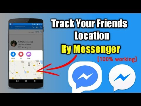 How To Track Your Friends Location By Messenger   Messenger Secret Tips & Tricks