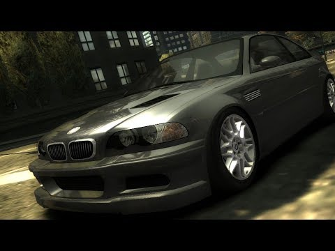 Need For Speed: Most Wanted - BMW M3 GTR - Test Drive Gameplay (HD) [1080p60FPS]