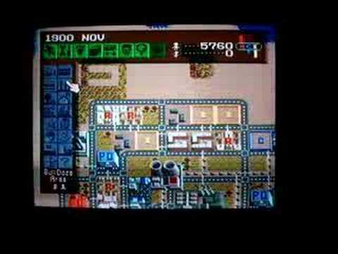 Sim City SNES Money cheat