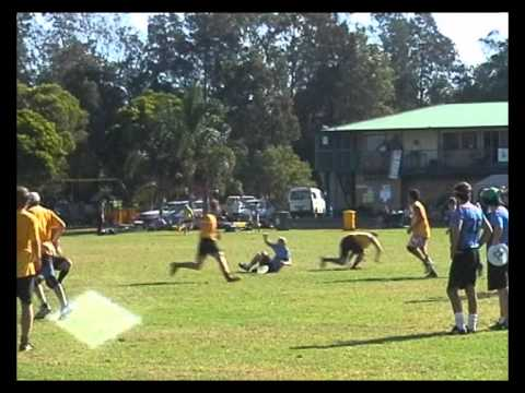 Australian Ultimate Championships 2001 - thong vs Chilly