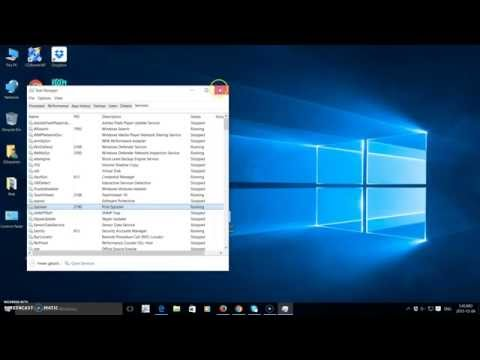 How to restart the Print Spooler on Windows 10