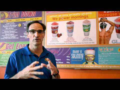 A Nutritional Guide from Fitness Together: Smoothie King and Eating Healthy Video