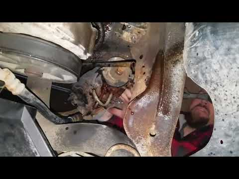 96 f150 steering gear box replacement