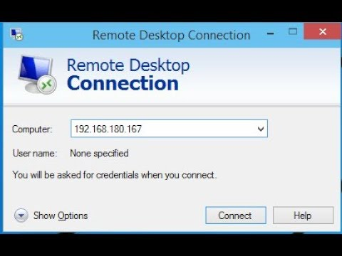 How To Allow Remote Desktop connections from outside your home or office network