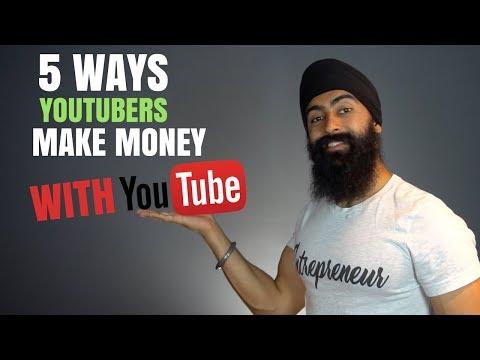 How YouTubers Make Money