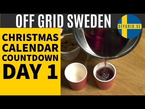 What is Glogg (Glögg)  — (Day 1) Christmas Calendar Countdown