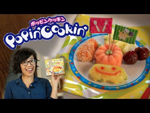 💥Popin' Cookin' Okosama KID'S Lunch -💥 popping candy deep frying action 💥 | Whatcha Eating?