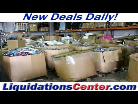 Wholesale Apparel Closeouts and Overstocks at Liquidations Center
