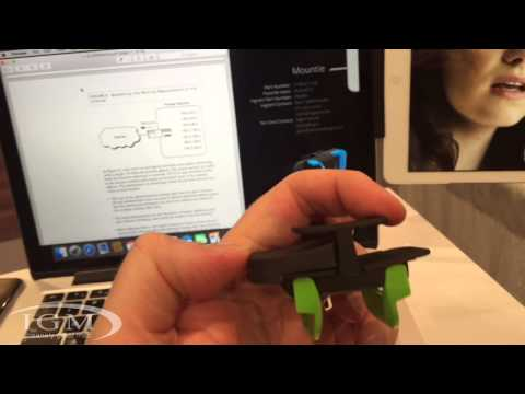 Mountie from Ten 1 Design mounts your tablet to your display - CES 2015