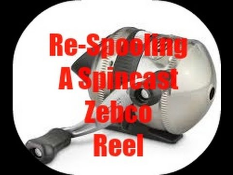 How to Change line on a Zebco Fishing Reel