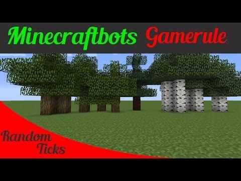 Minecraft How To Make Random Tick Speed