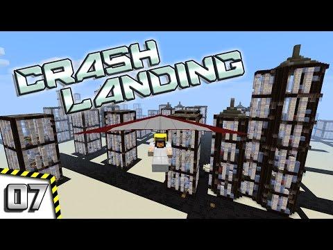 Minecraft Crash Landing - #07 - Bright Lights, Big City!