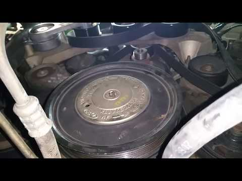 Ford Supercharger lower supercharger pulley removal