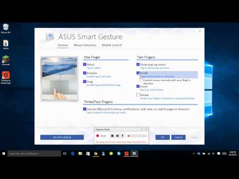 Two Finger Scrolling For Asus Laptops