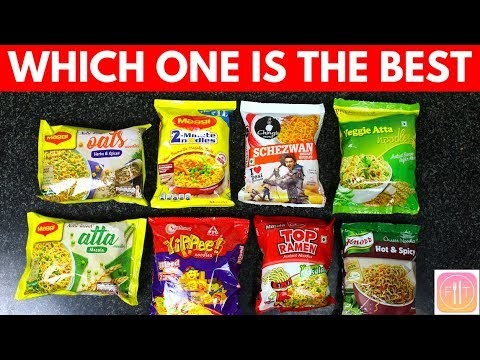 15 Instant Noodles in India Ranked from Worst to Best