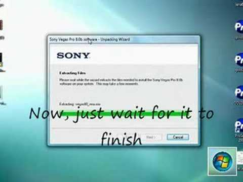 How To Download Sony Vegas Pro 8 (Trial)