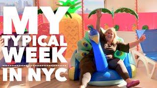 Vlog: My Typical Week in New York