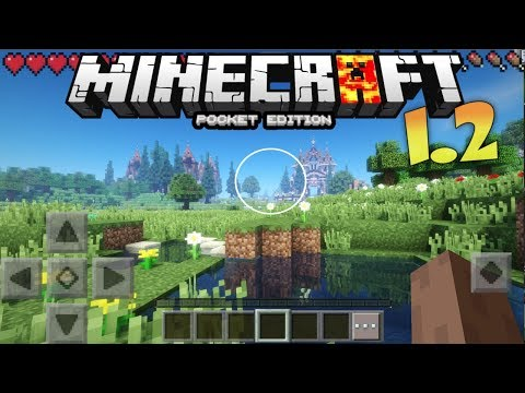 MCPE 1.2 BEST SHADERS - MINECRAFT PE 1.2.5 KRS PE SHADERS REVIEW / TEXTURE PACK FOR  MCPE 1.2.4