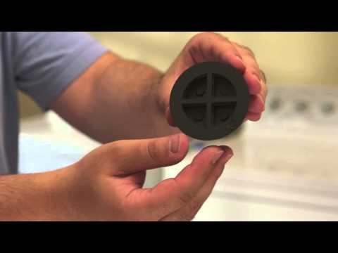 Anti-Vibrating Washer Pads Stops Washer From Shaking, Rattling and Rolling Away