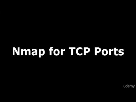 Ethical Hacking With Kali Linux   Nmap TCP Port Scanning