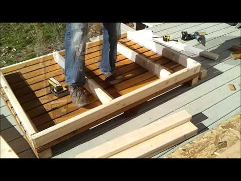 2-Shed Wall Framing - How to Build a Generator Enclosure