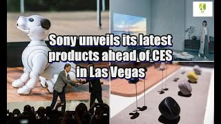Sony unveils its latest products ahead of CES in Las Vegas