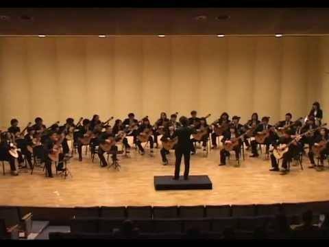 Guitar ensemble - Slavonic Dance No.8 in G-minor Op.46 No.8