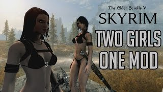 The Sexiest Mod In Skyrim! Remastered Xbox One Sexy Clothing