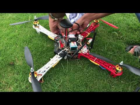 Project FireFly - Custom built F450 Quadcopter