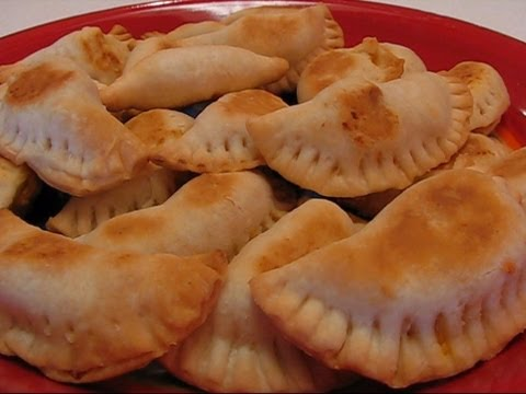 Betty's Baked Chicken and Cheese Empanadas