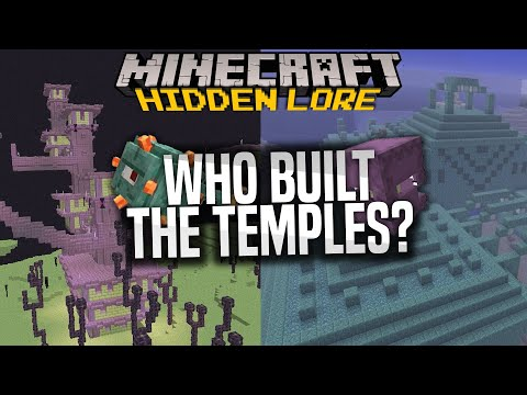 Who built the End Cities and made Shulkers and Guardians? - Overthinking Minecraft, my theory