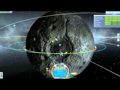 Kerbal Space Program - Career - Rescue Kerbal from orbit of the Mun (x3)(Rescue Part)