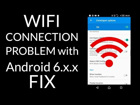 WiFi connection problem FIX! (Sony Xperia Z5, Android, Marshmallow) FIX connectivity
