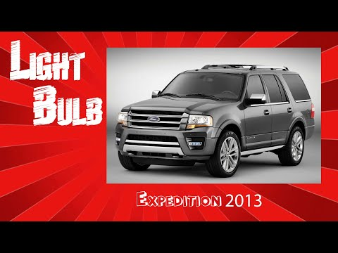 How to change turn signal bulb on 2013 ford expedition