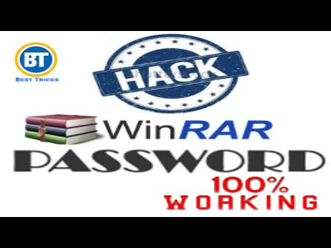 how to crack winrar password in hindi 2017 new method