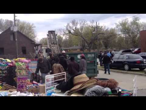 Laney Supermarket Eviction