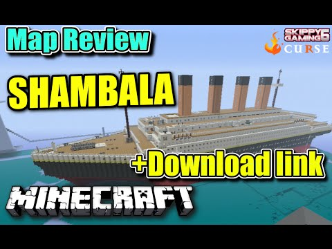 MINECRAFT - PS3 - SHAMBALA MAP REVIEW + DOWNLOAD LINK ( PS4 )  SERVER UPDATE