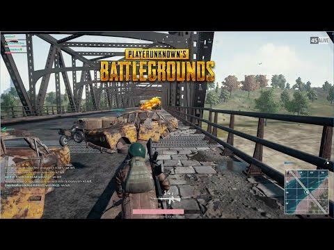 Pile up on the Bridge | PLAYERUNKNOWN'S BATTLEGROUNDS