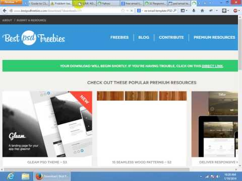 Responsive Email template | RRF Residential Class | Class #1