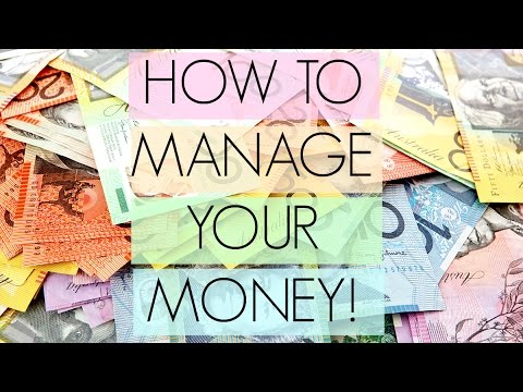 HOW TO MANAGE YOUR MONEY! $$ CASH ACCOUNT ORGANISATION & BREAKING BAD HABITS