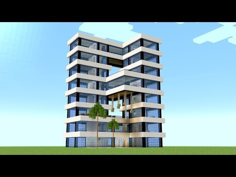 Minecraft - How to build a hotel tower